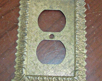 Vintage Double Plug Plate Cover Outlet Lighting