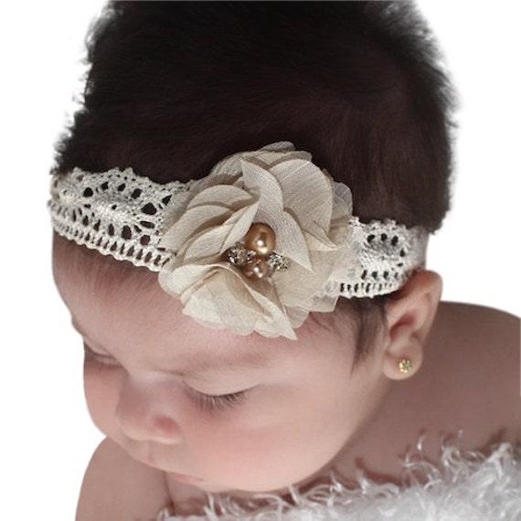 Unique Headband, Handmade Headband, Baby Girl Baby Headband, baby Girl gift, newborn gift, Fabric Headband, Cotton Headband, Flower Headband