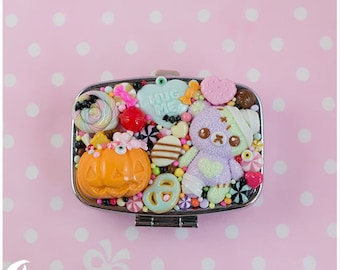 Creepy cute Pill and candy case