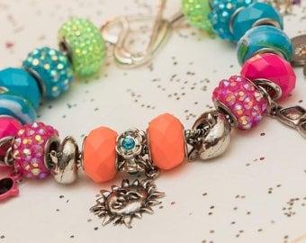 Beach Babe European Bracelet