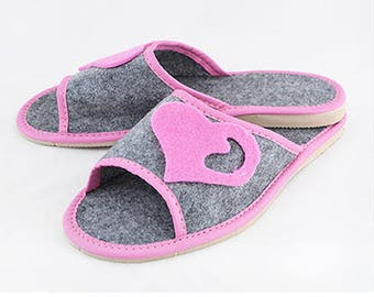 Womens Leather Slippers #33