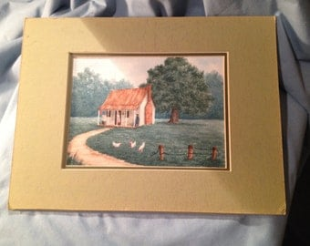 BONNIE BAST Watercolor of New Orleans Area