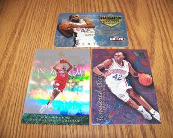 3 Jerry Stackhouse (Philadelphia 76ers) Insert Cards