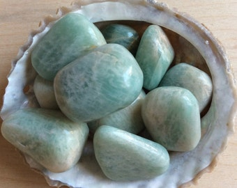Amazonite, Soothing Stone, Healing Stone, Soothes Emotions, Energies Luck and Love, Healing Crystal, Chakra Stone, Spiritual Stone