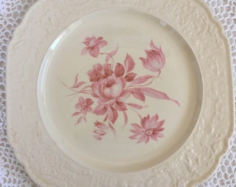 Antique Universal Pottery Dinner Plate