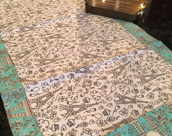 Paris Is For Lovers Table Runner