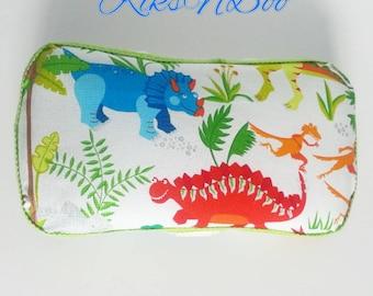 Dinosaur Baby Wipes Travel Case, Diaper Wipes Travel Case, Wipes Carrying Case, Diaper Bag Accessory, Dinosaur Nursery, Baby Shower Gift