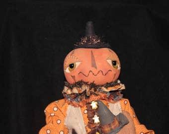Stan The Pumpkin Man