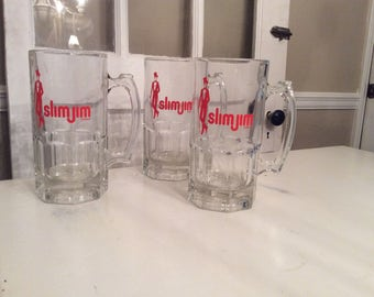 "Retro Sharp Dapper ""Slim Jim"" Glassware/Barware Who doesn't love Slim Jim?"