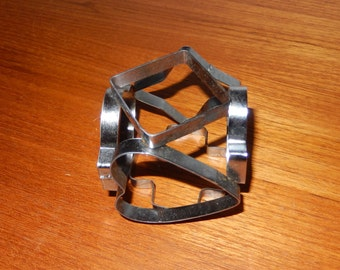 Vintage 6-Sided Cookie Cutter - Heart, Spade, Club, Diamond, Cross and 4-Pointed Star