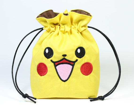 SALE Pika Face Drawstring Bag, Dice Bag
