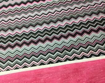 Personalized Pillowcase chevron Print STANDARD SIZE