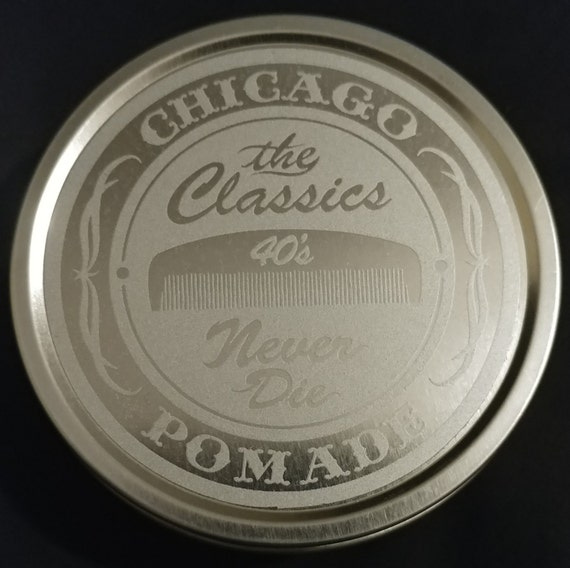 The Classics Pomade Co. Silver Tin Edition