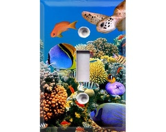 Aquatic Life Style 3 Light Switch Cover