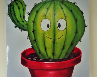 Greetings card - Sometimes you can be a bit of a prick - cactus