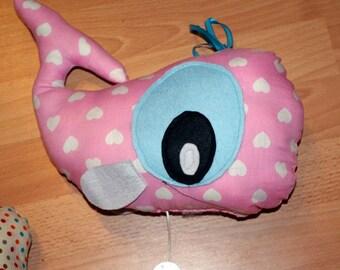 Doudou whale music box
