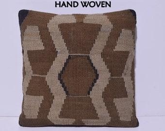 20x20 kilim pillow 20x20 decorative pillow 20x20 pillow cover 20x20 pillow case 20x20 throw pillow covers large kilim pillow cushions B2597