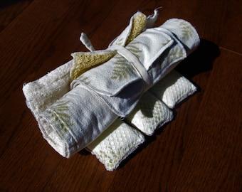 Unpaper towel, cloth towel, reusuable towel, eco friendly, zero waste, snapping paper towel, unsponges