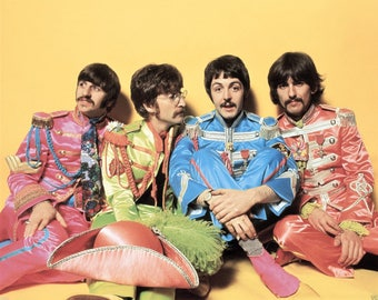 The Beatles from Sgt Pepper .