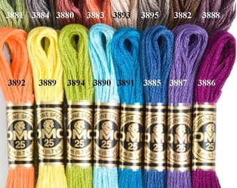 DMC new Colors per Skein - 16 new colors available - You pick the colors - Per Skein