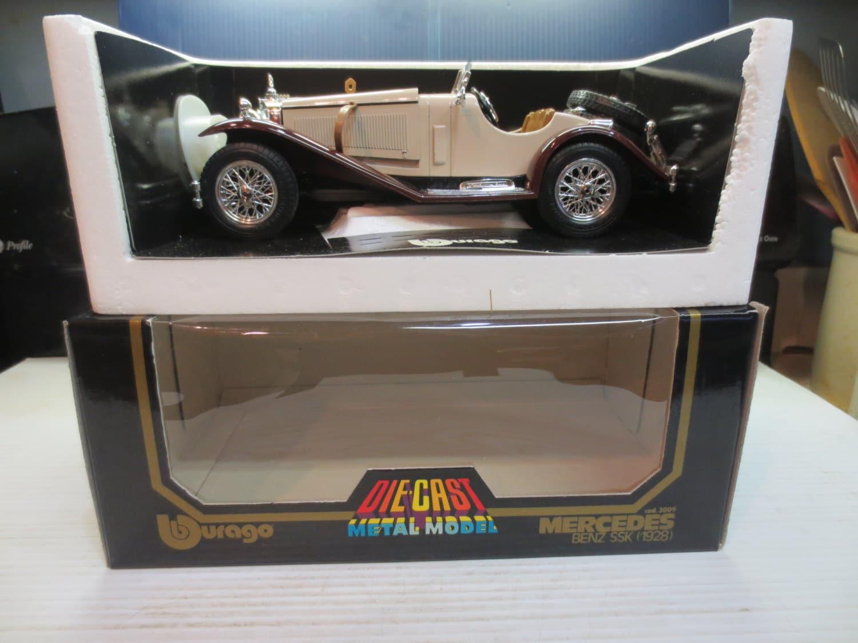 Burago 1 18 bburago mercedes benz ssk 1928 3009 diecast italy for Mercedes benz ssk 1928 burago