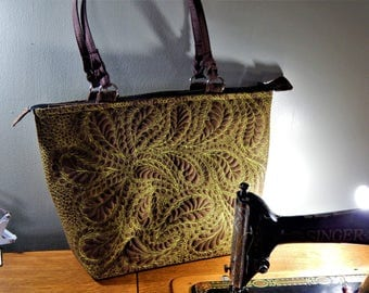 Quilted handbag/tote