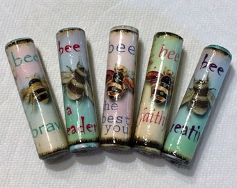Paper Beads Bees