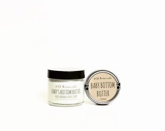 Baby's Bottom Butter, 2oz Jar, All Natural Diaper Cream