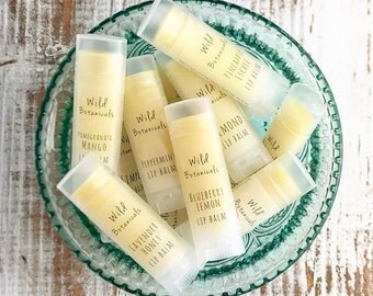 50-74 Custom Lip Balm Favors, All Natural, Wedding Favors, Bridal Shower, Baby Shower, Birthday Party, Custom Labels Favors, Promotional Ite