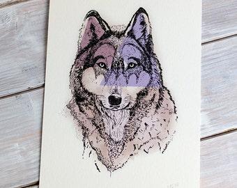 Wolf | A5 Giclée Print
