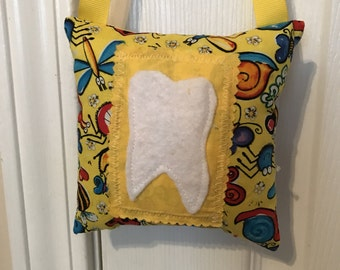 Tooth Fairy Pillow, Girls Tooth Fairy Pillow, Boys tooth fairy pillow, Bugs tooth fairy pillow