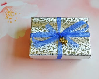 ADD a GIFT BOX . . . for my customers ordering custom charms only please