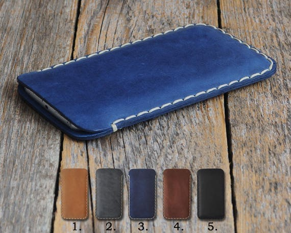 Genuine Leather Case For HP Elite x3 Rough Vintage Style Cover Pouch Shell Sleeve Custom Sizes Available