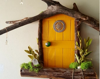 Sri Yantra Sedona Fairy Door