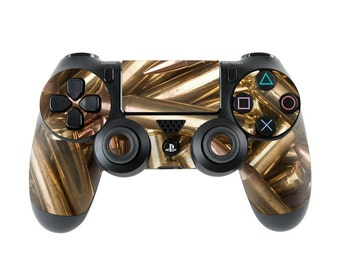 Sony PS4 Controller Skin Kit - Bullets - DecalGirl Decal Sticker