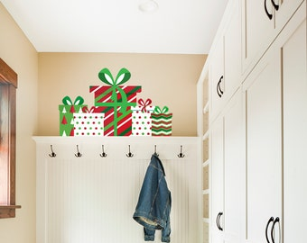 Christmas Gifts Wall Sticker