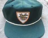 80's Mobile Alabama Skyline Country Club Golf Hat