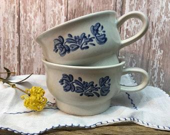 Vintage Pfaltzgraff Yorktowne Mugs/Set of Two