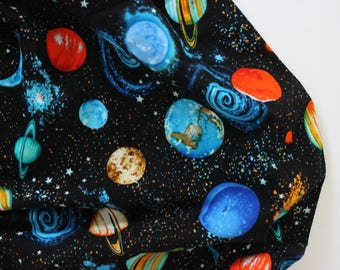 Outer Space Baby Blanket, Planets Baby Blanket, Planet Minky Baby Blanket, Minky Baby Blanket, Baby Boy Blanket, Toddler Blanket, Planets