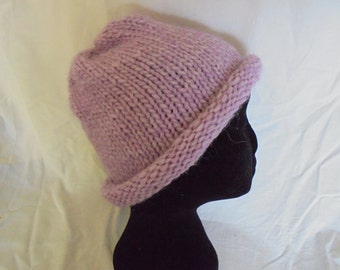 Pure wool knitted hat