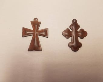 3D (3) mix and match puffy crosses Chubby Cross and Maltese Cross