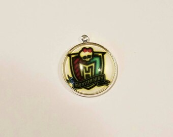 Monster High inspired Charm-Qty:1