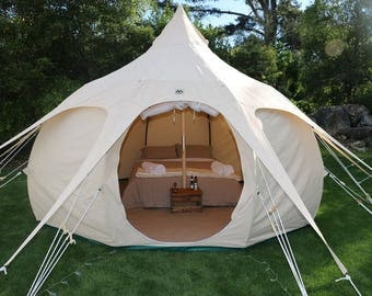 13ft Lotus Belle Outback Tent yurt, burning man, glamping festival tent