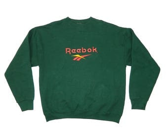 Vintage Reebok Embroidered Sweatshirt