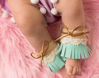 Boho ankle cuffs