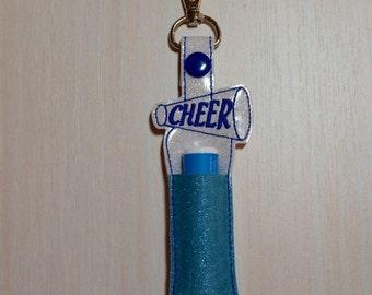 Lip Balm, Chapstick, Flash Drive, USB Drive Holder - Cheer, cheerleading