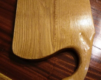 Oak serving tray/cutting board
