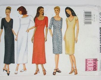 Butterick 6531 Misses Dress Sewing Pattern Sizes 18 - 22 Uncut