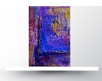 Aceo cards.Abstract Aceo. Aceo art.Miniature art.Aceo original.Abstract art aceo.Original painting.Aceos cards. Art Card.