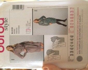 Burda pattern 7448 Career Dress sizes 10-22